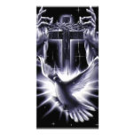 Jesus Christ Crown of Thorns and Dove Photo Greeting Card