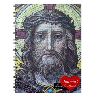 Jesus Christ, Crowned King Mosaic No.2 (Notebook) Notebook