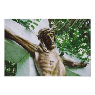 Jesus Christ Crucifixion Calvary Golgotha Poster