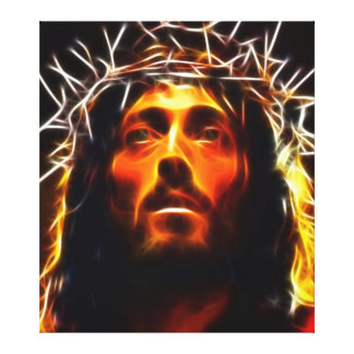 Jesus Christ Crucifixion Canvas Print
