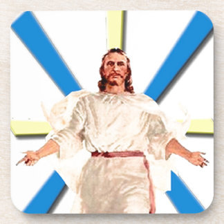 Jesus Christ Drink Coaster