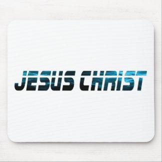 Jesus Christ effet eau Mouse Pad