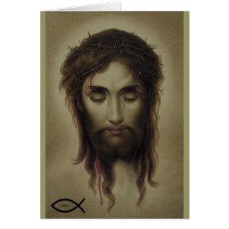 Jesus Christ God Son Saviour Card