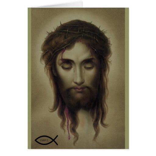 Jesus Christ God Son Saviour Cards