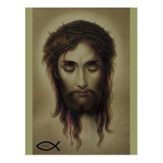 Jesus Christ God Son Saviour Postcard