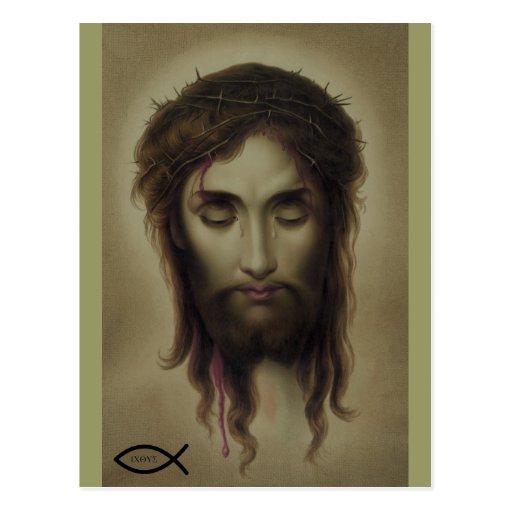 Jesus Christ God Son Saviour Postcards