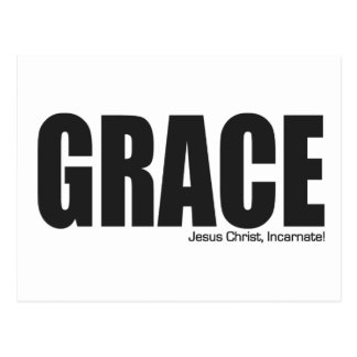 Jesus Christ Grace Incarnate Postcard