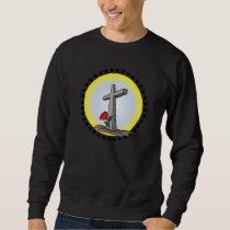 JESUS CHRIST HOLY CROSS SWEATSHIRT