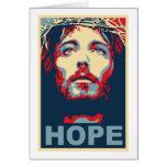 Jesus Christ Hope Greeting Cards