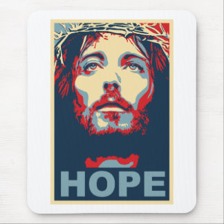Jesus Christ Hope Mouse Pad