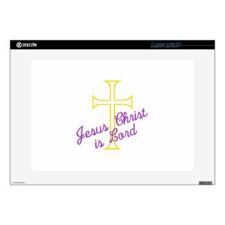 Jesus Christ is Lord Laptop Skins