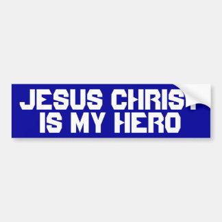 Jesus Christ is my Hero Bumper Sticker