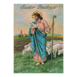 Jesus Christ Lamb Shepherd Card