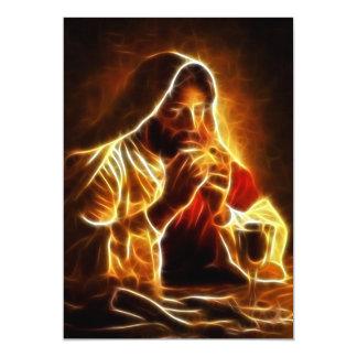 Jesus Christ Last Supper 5x7 Paper Invitation Card