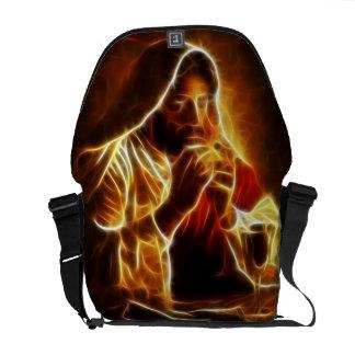 Jesus Christ Last Supper Messenger Bag