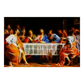 Jesus Christ Last Supper Poster