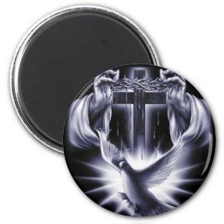 Jesus Christ 2 Inch Round Magnet