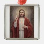 Jesus Christ Metal Ornament