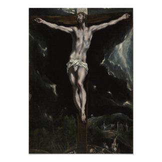 Jesus Christ on the Cross Card