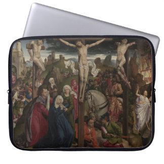 Jesus Christ on the Cross Computer Sleeve