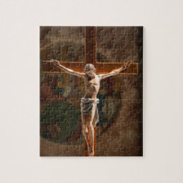 Jesus Christ on the Cross Jigsaw Puzzle