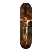 Jesus Christ on the Cross Skateboard