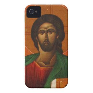 Jesus Christ Orthodox Christian Icon iPhone 4 Case-Mate Case