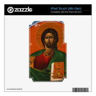 Jesus Christ Orthodox Christian Icon iPod Touch 4G Decal
