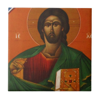 Jesus Christ Orthodox Christian Icon Tile