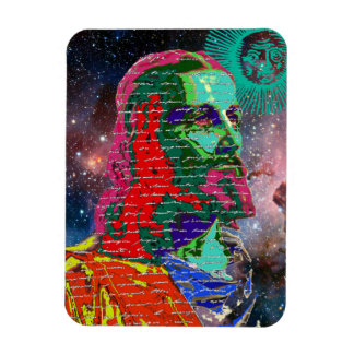 Jesus Christ Outer Space Galaxy Cosmos Stars Sun Magnet