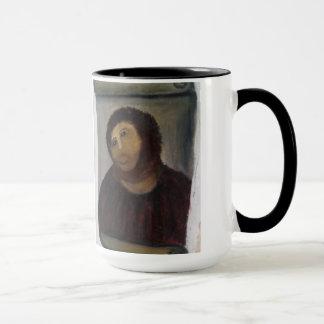 jesus christ painting mug