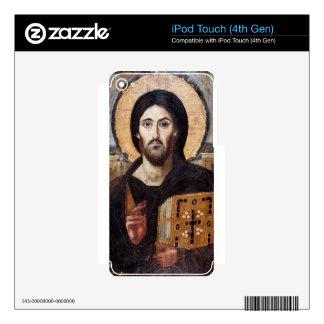 Jesus Christ Pantocrator Christian Icon iPod Touch 4G Skin