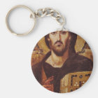 Jesus Christ Pantocrator Christian Icon Keychain