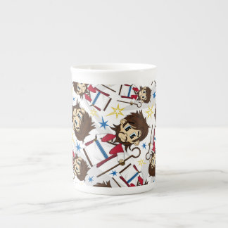 Jesus Christ Patterned China Cup Tea Cup