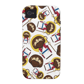 Jesus Christ Patterned iphone Case Case-Mate iPhone 4 Covers