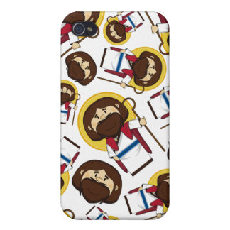 Jesus Christ Patterned iphone Case Case For iPhone 4
