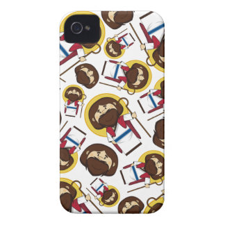 Jesus Christ Patterned iphone Case iPhone 4 Case