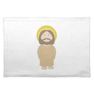 Jesus Christ Cloth Place Mat