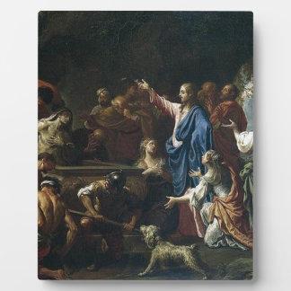 jesus christ plaque