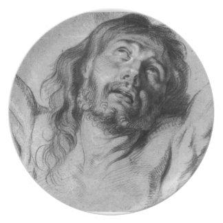 Jesus Christ Party Plate
