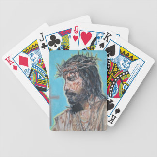 Jesus Christ playing cards