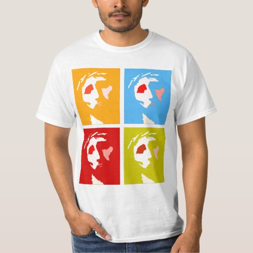 jesus christ pop art tshirt