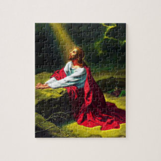 Jesus Christ Praying in the Garden of Gethsemane Puzzles