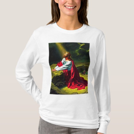Jesus Christ Praying in the Garden of Gethsemane T-Shirt