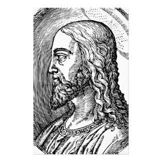 Jesus Christ profile Stationery