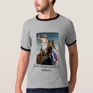 Jesus Christ: pwner of Atheists T-Shirt