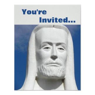 Jesus Christ Religious 4.25x5.5 Paper Invitation Card