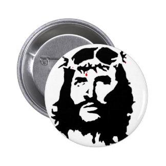 jesus-christ-revolution 2 inch round button