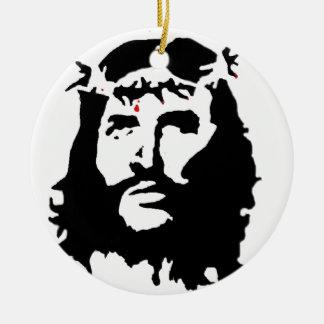 jesus-christ-revolution ceramic ornament