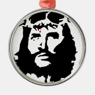 jesus-christ-revolution metal ornament
